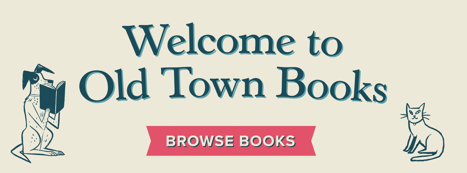 Welcome to Old Town Books!